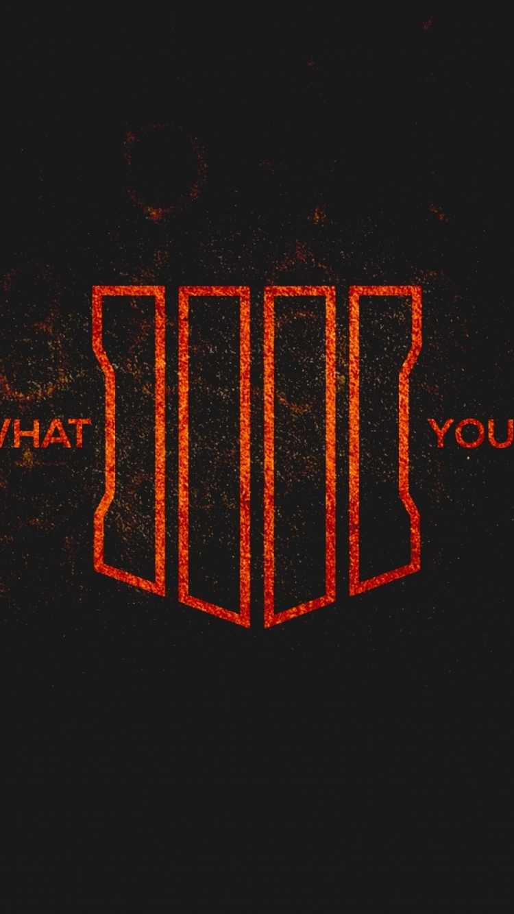Download 750x1334 Wallpaper Call Of Duty Black Ops 4 Poster
