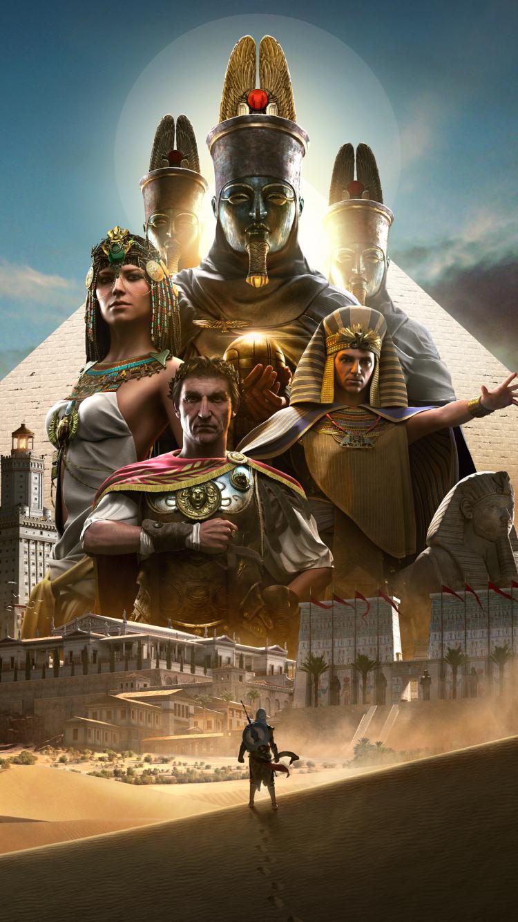Download 750x1334 Wallpaper Assassin S Creed Origins 2017 Game