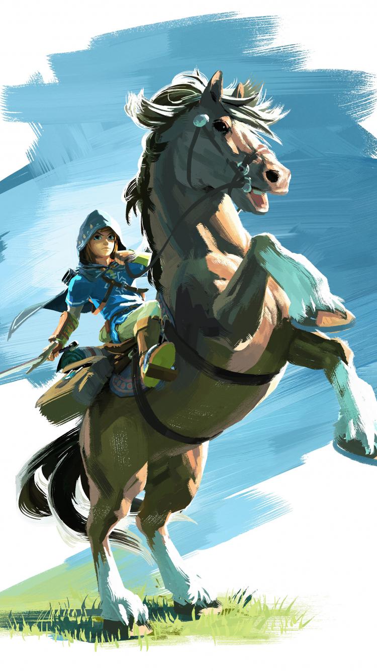 Download 750x1334 Wallpaper The Legend Of Zelda Breath Of