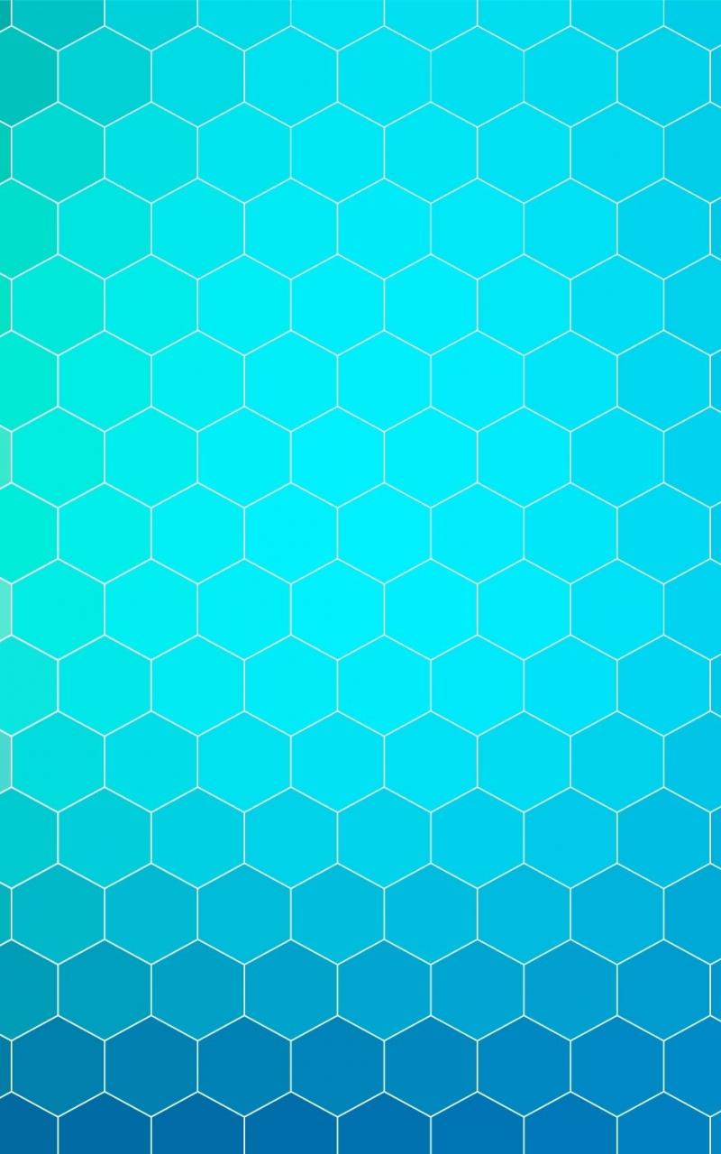 Download 800x1280 Wallpaper Background Gradient Hexagons