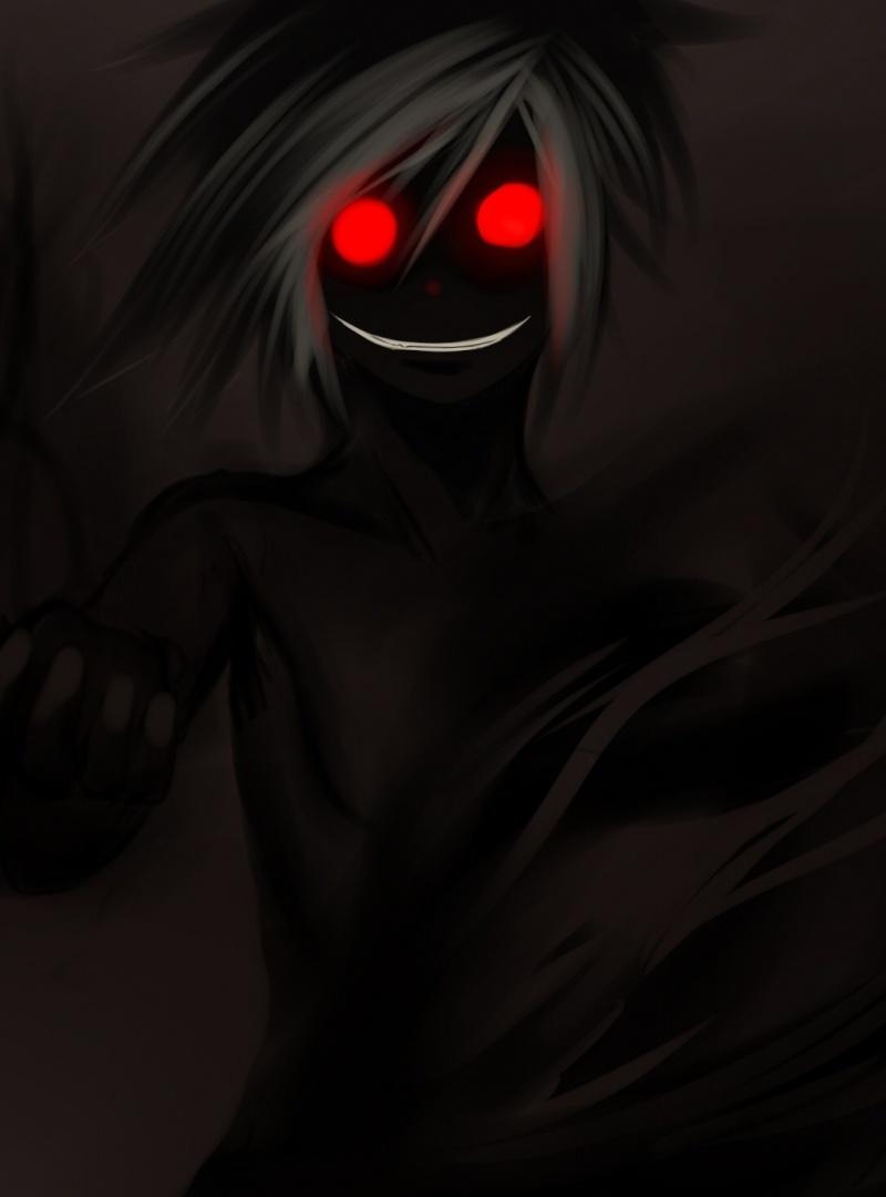 dark anime artwork