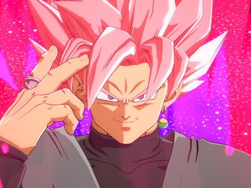 Download 800x600 Wallpaper Artwork Black Goku Dragon Ball