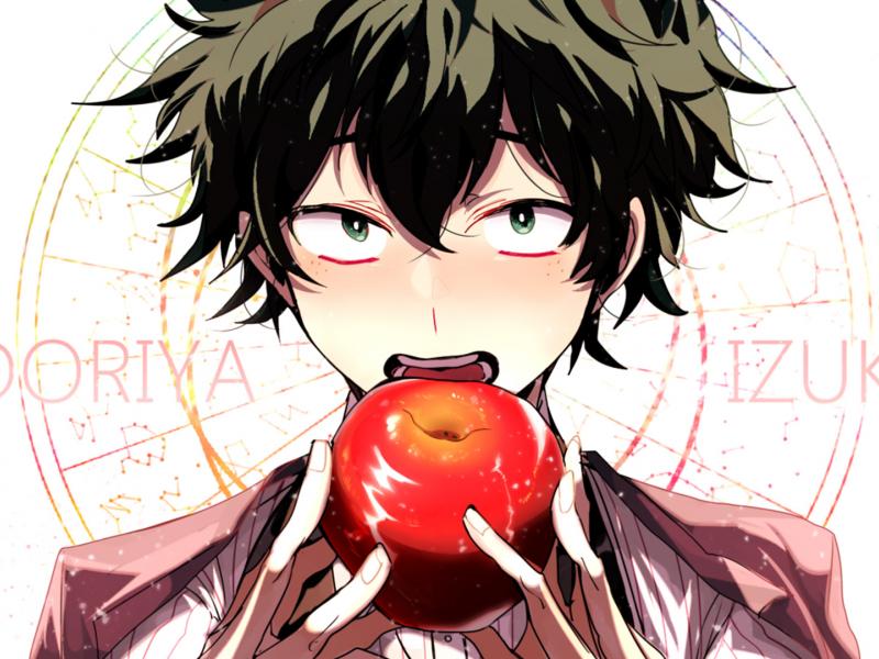 Download 800x600 Wallpaper Anime Izuku Midoriya Boku No
