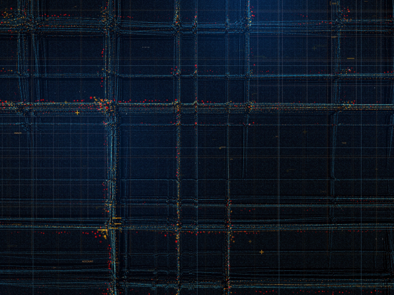 Particles, structure, lines, pattern, dark, 800x600 wallpaper