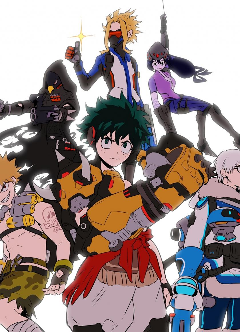 Download 840x1160 Wallpaper Anime Boku No Hero Academia