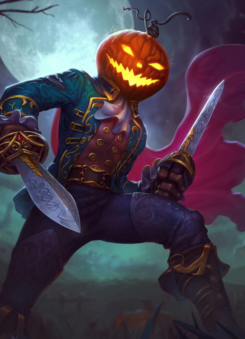 Download 840x1160 Wallpaper Pumpkin Man Loki Halloween