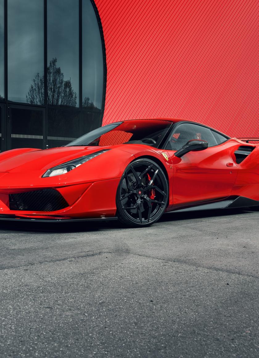 Download 840x1160 Wallpaper Pogea Racing Fplus Corsa Ferrari 488 Pista Front 2018 Iphone 4 Iphone 4s Ipod Touch 840x1160 Hd Image Background 6774