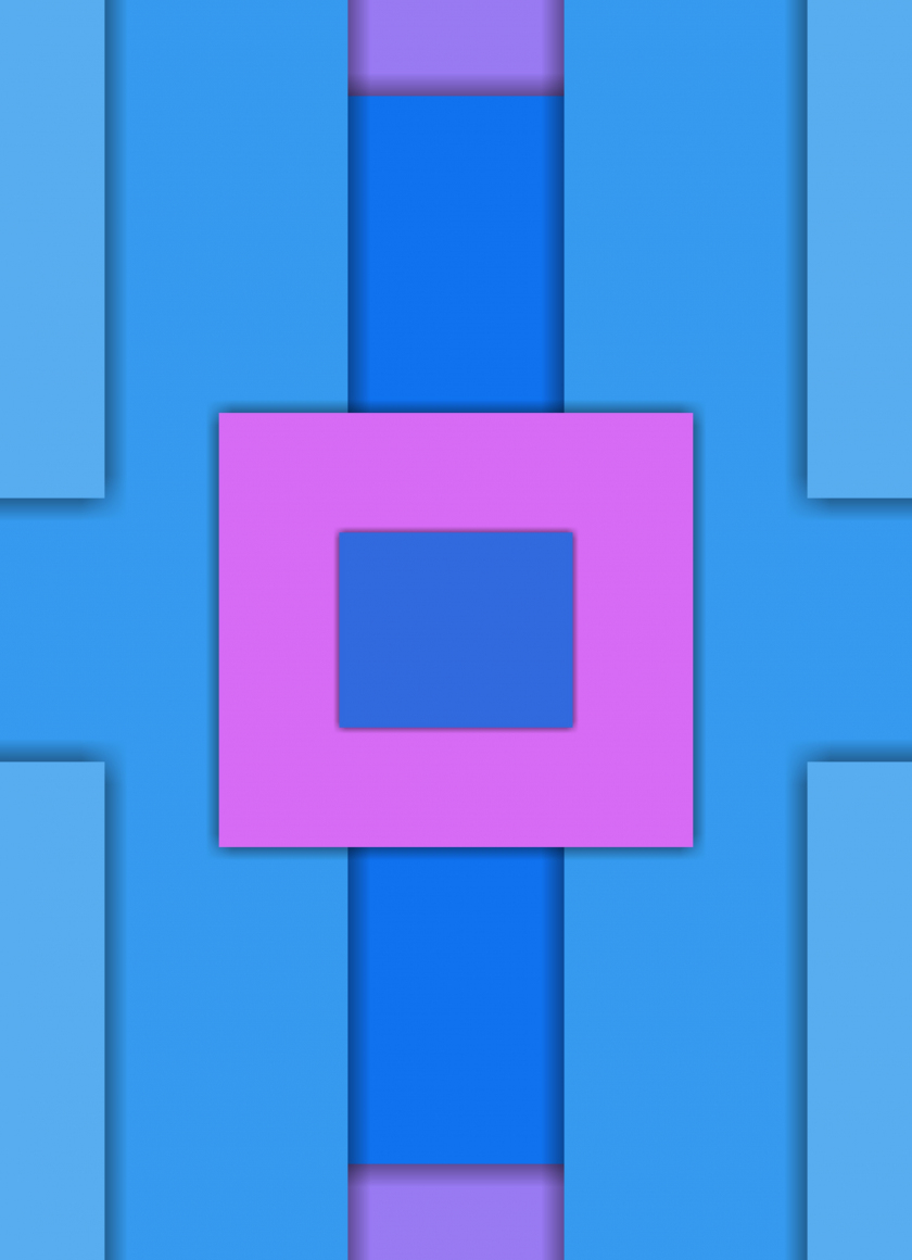Squares, abstract, material design, 840x1160 wallpaper