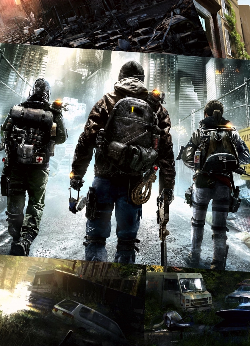 Download 840x1160 Wallpaper Video Game The Last Of Us Soldiers