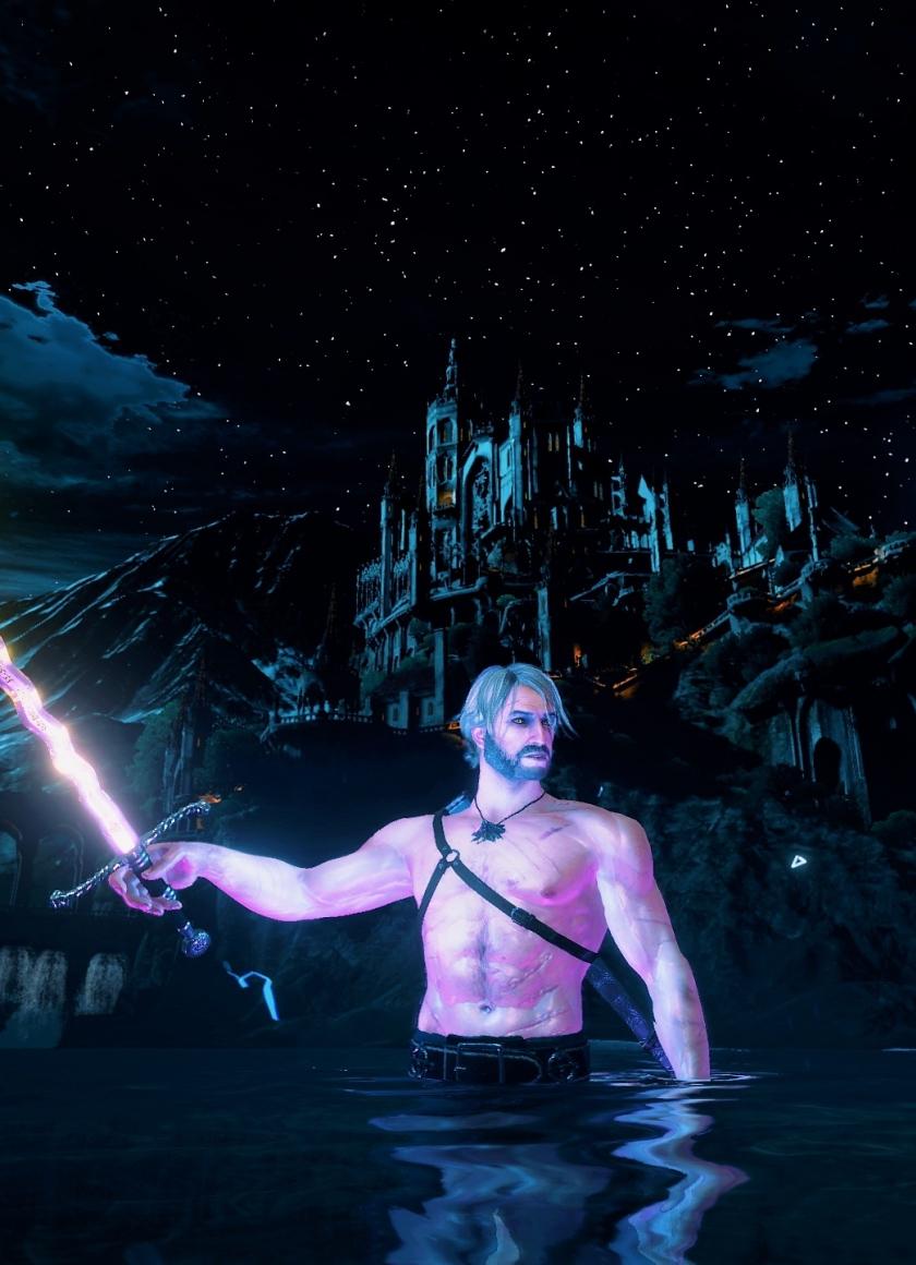 Download 840x1160 Wallpaper Warrior Geralt Of Rivia The Witcher