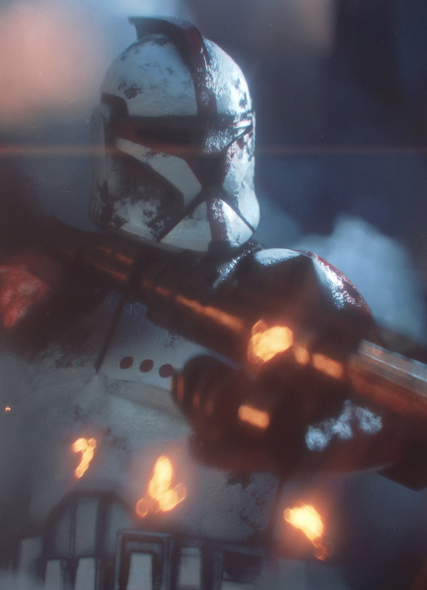 Download 840x1160 Wallpaper Video Game Star Wars Clone Trooper