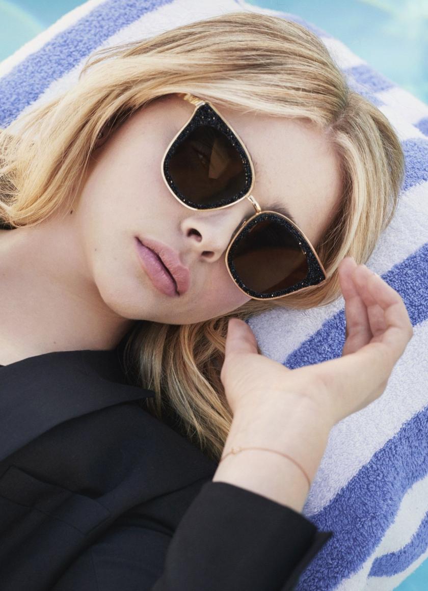 Chloe Grace Moretz, beautiful, sunglasses, 840x1160 wallpaper