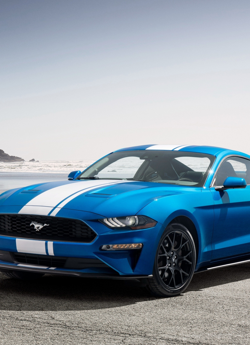 Download 840x1160 Wallpaper Ford Mustang Ecoboost Performance Pack 1 2018