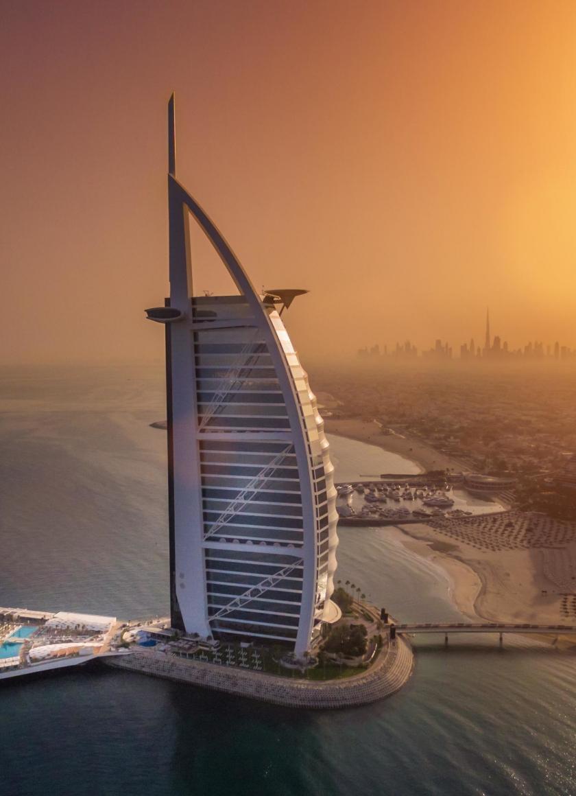 Download 840x1160 Wallpaper Cityscape Aerial View Dubai