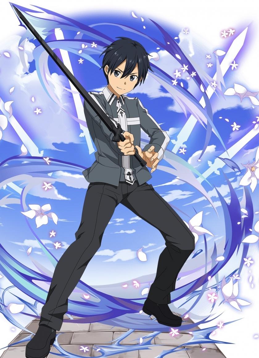 Download 840x1160 Wallpaper Anime Boy Kirito Kirigaya