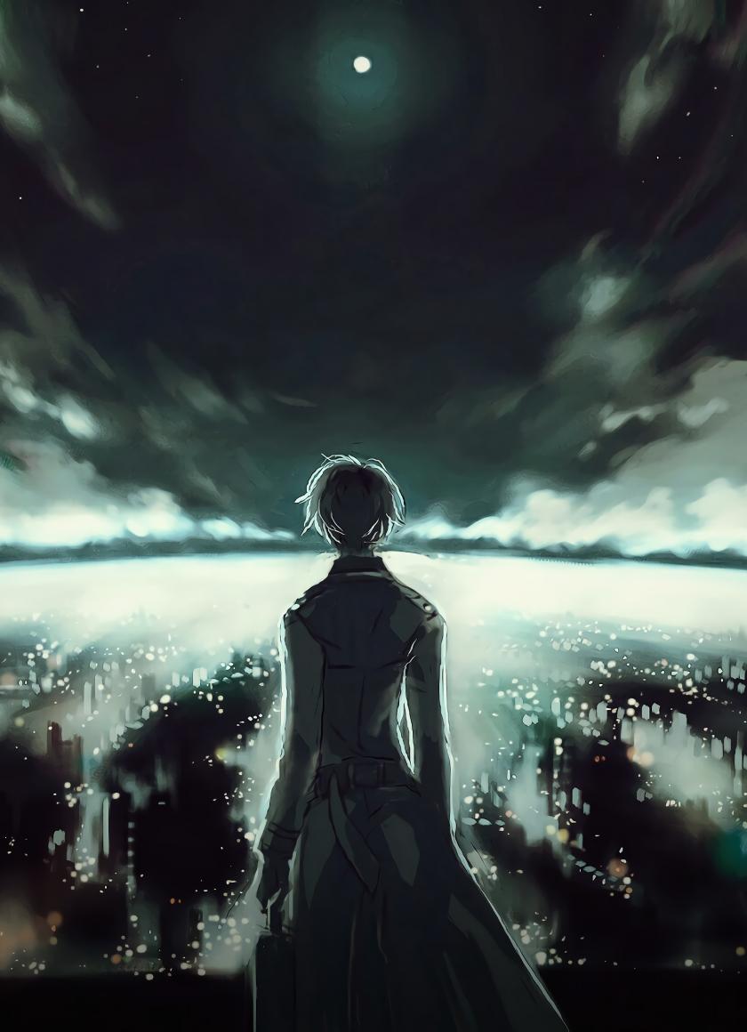 Download 840x1160 wallpaper ken kaneki, tokyo ghoul, anime ...