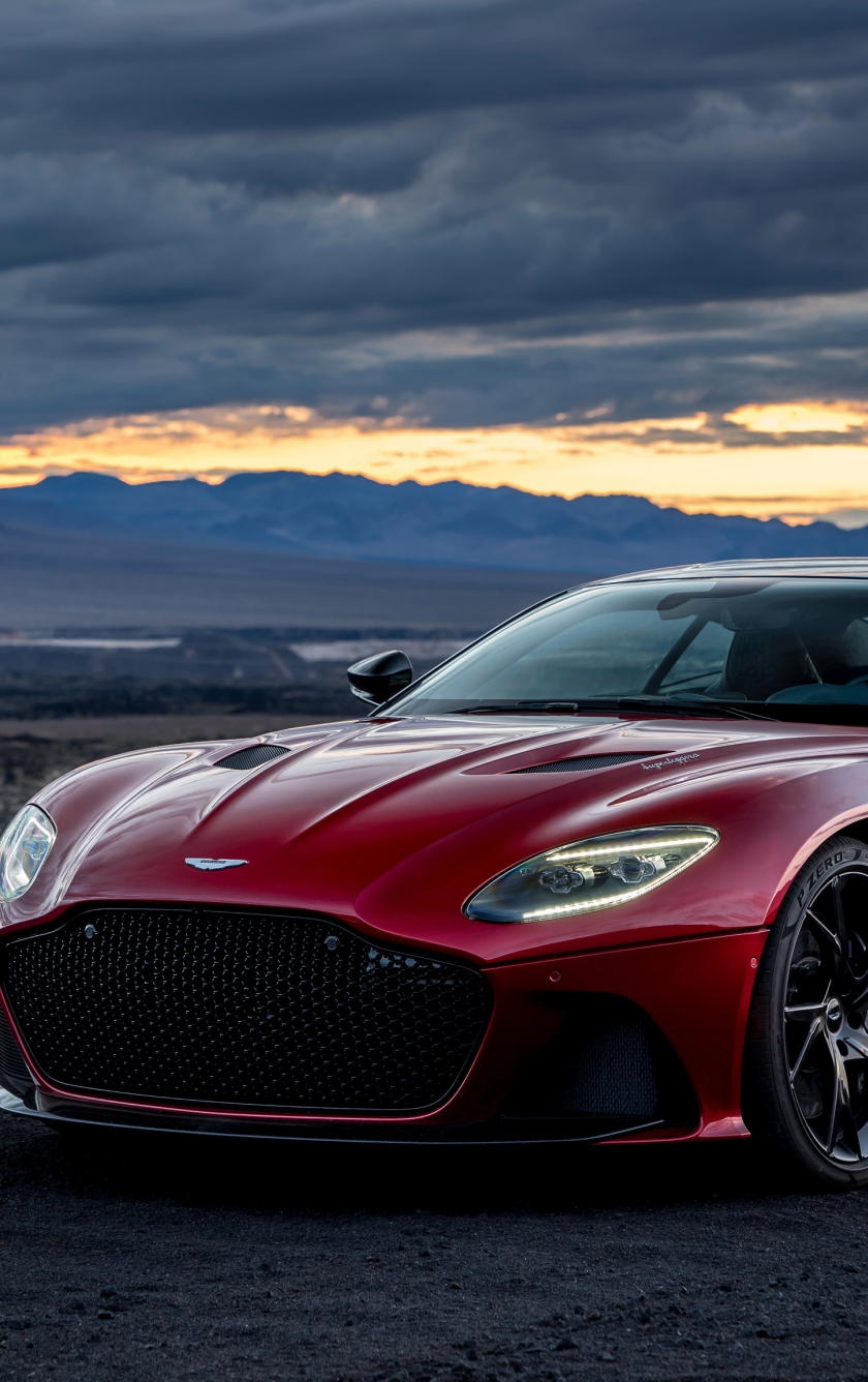Download 840x1336 Wallpaper Outdoor Red Aston Martin Dbs Iphone 5 Iphone 5s Iphone 5c Ipod Touch 840x1336 Hd Image Background 9855