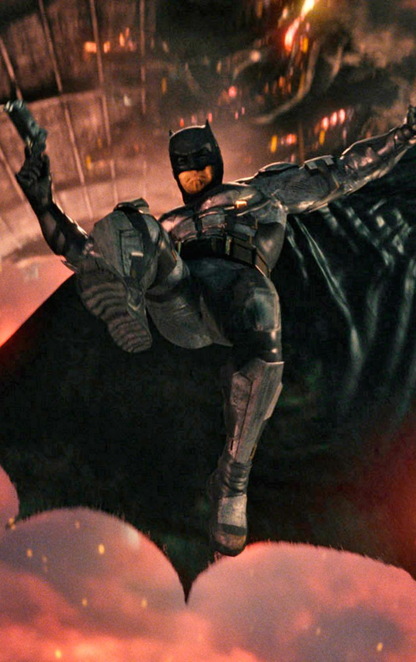 Batman Jump Justice League 2017 Movie 840x1336 Wallpaper