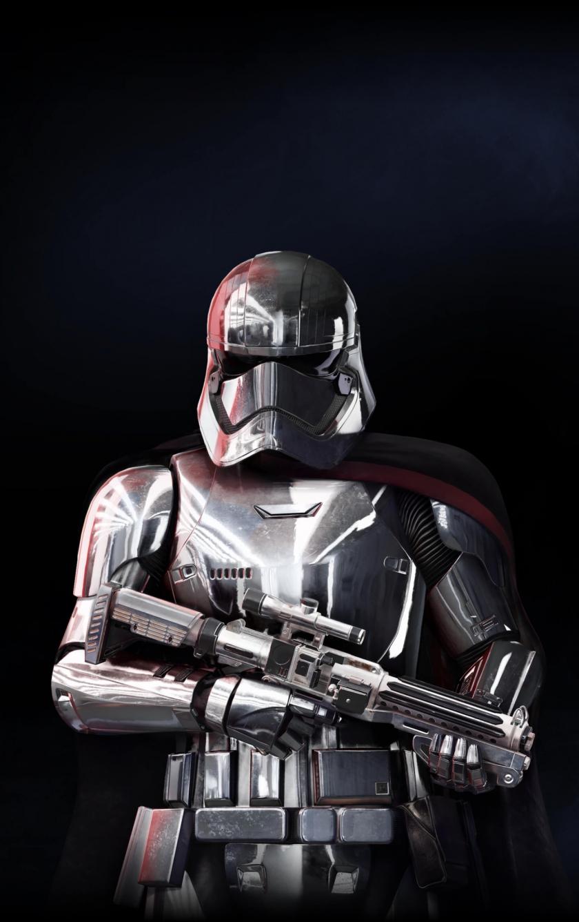 Captain Phasma Star Wars Battlefront 2 Soldier 840x1336 Wallpaper