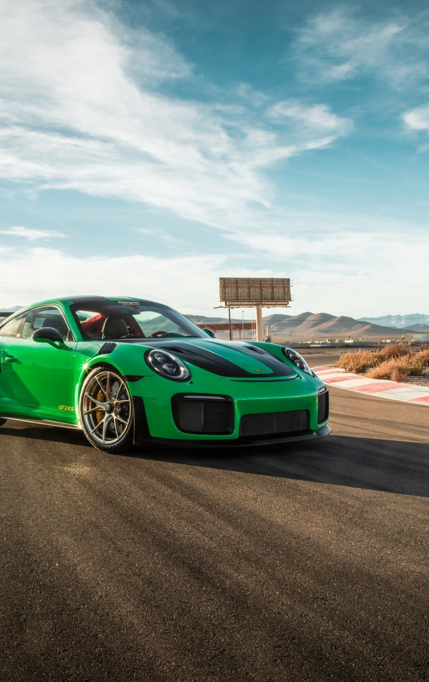 Download 840x1336 Wallpaper Green On Road Porsche 911 Gt3 Iphone 5 Iphone 5s Iphone 5c Ipod Touch 840x1336 Hd Image Background 17976