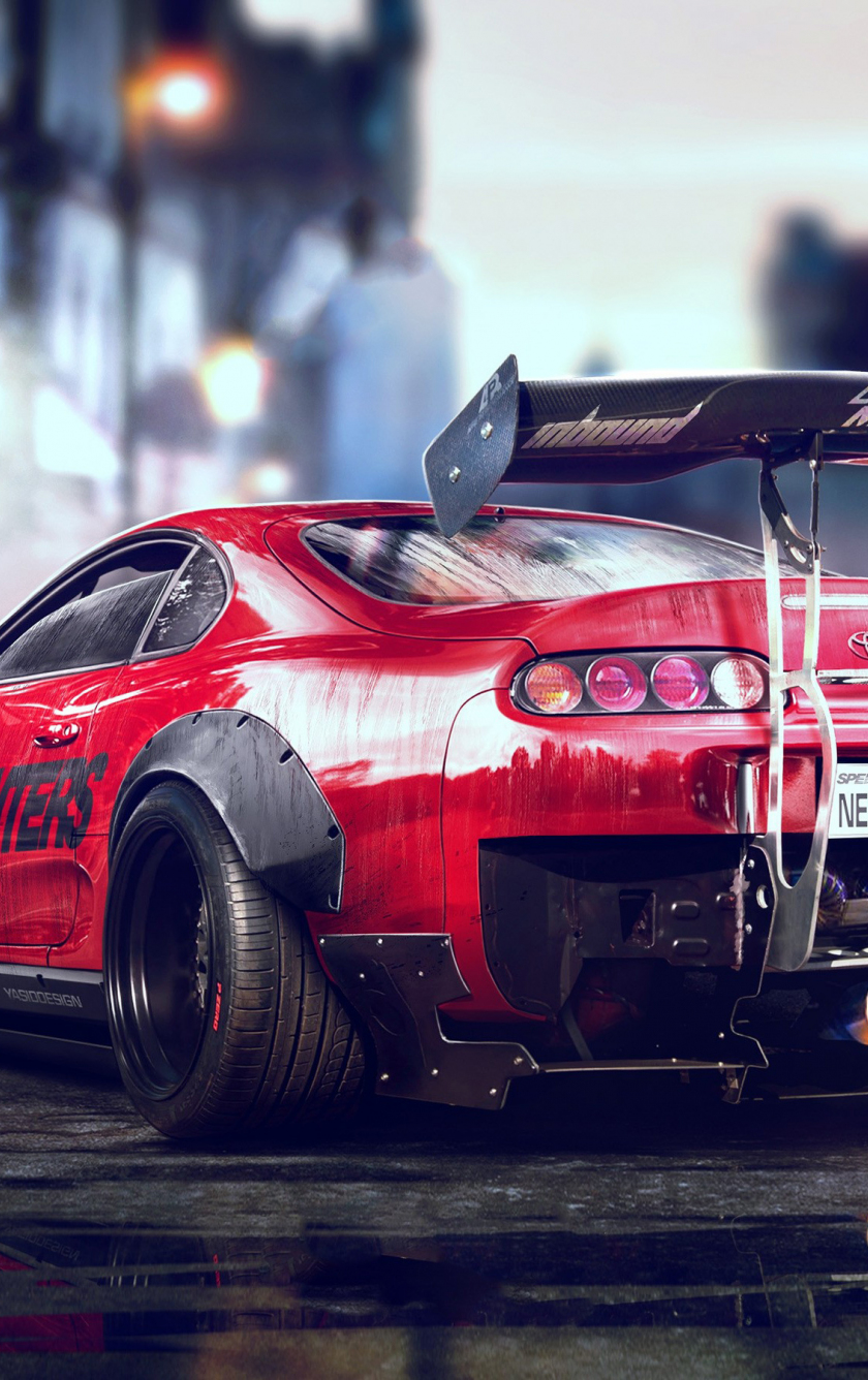 Download 840x1336 Wallpaper Toyota Supra Need For Speed Payback