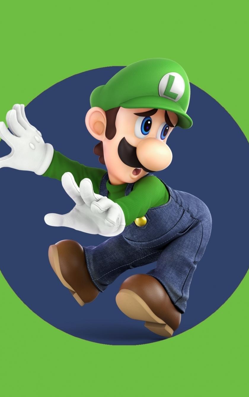 Download 840x1336 Wallpaper Martio Video Game Super Smash Bros