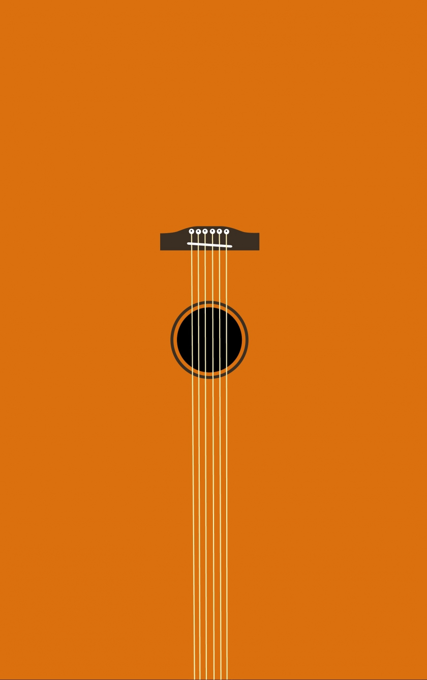 Download 840x1336 Wallpaper Minimal Music Guitar Art Iphone 5 Iphone 5s Iphone 5c Ipod Touch 840x1336 Hd Image Background 17358