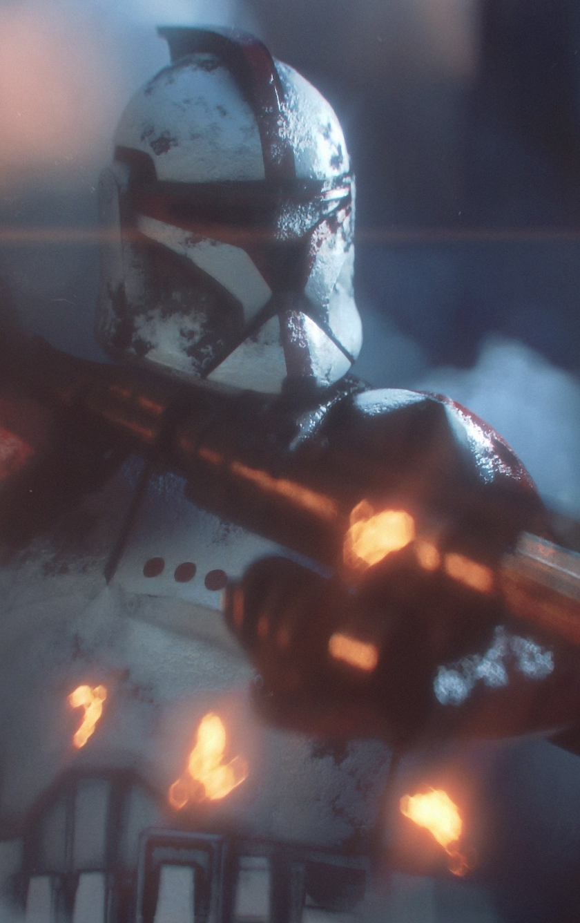 Download 840x1336 Wallpaper Video Game Star Wars Clone Trooper Iphone 5 Iphone 5s Iphone 5c Ipod Touch 840x1336 Hd Image Background 19713