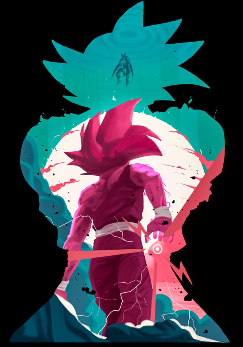Dragon Ball Anime Boy Goku Minimal 840x1336 Wallpaper