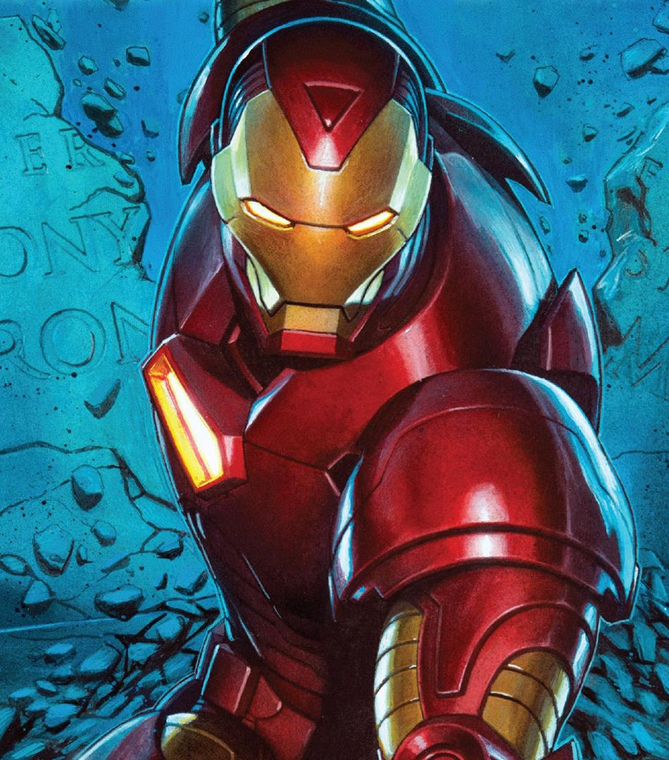 Wallpaper Iphone Superhero: Download 950x1534 Wallpaper Iron Man, Superhero, Comics