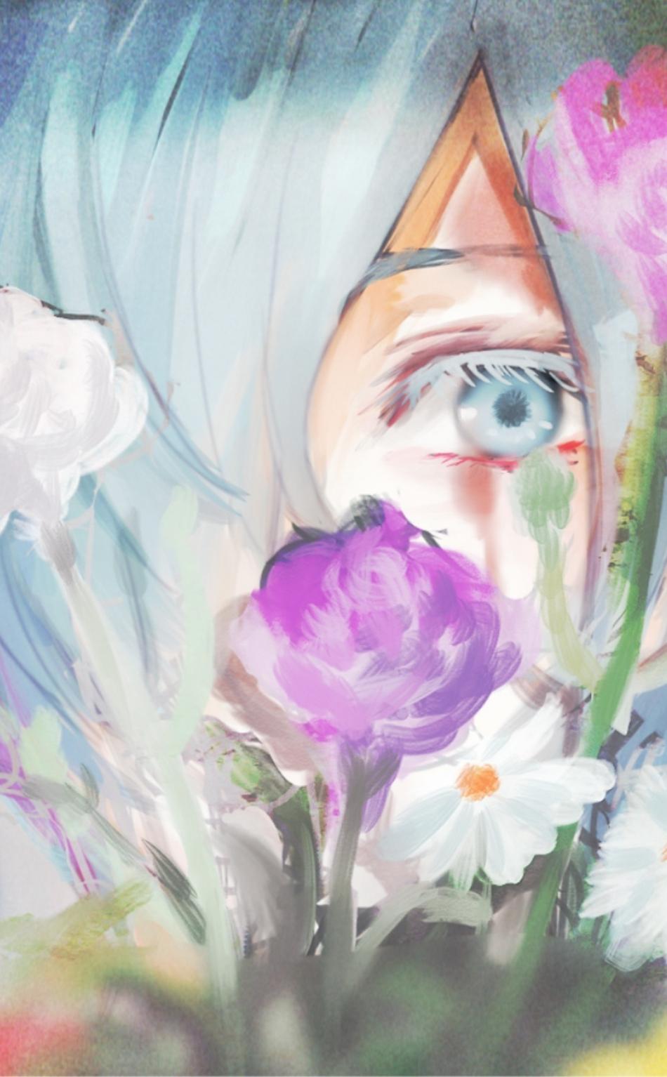 Download 950x1534 Wallpaper Beautiful Touka Kirishima Tokyo