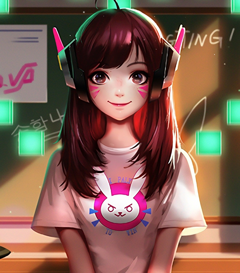 Download 950x1534 Wallpaper Cute D Va Overwatch Gaming Iphone 950x1534 Hd Image Background 1177