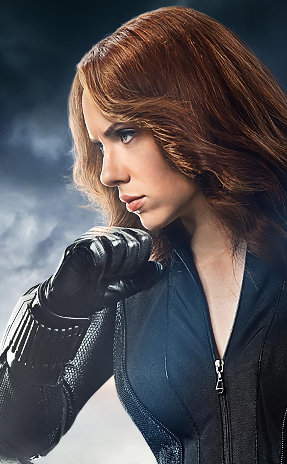 Download 950x1534 Wallpaper Black Widow Red Head Avengers Scarlett Johansson Natasha Iphone 950x1534 Hd Image Background 14822