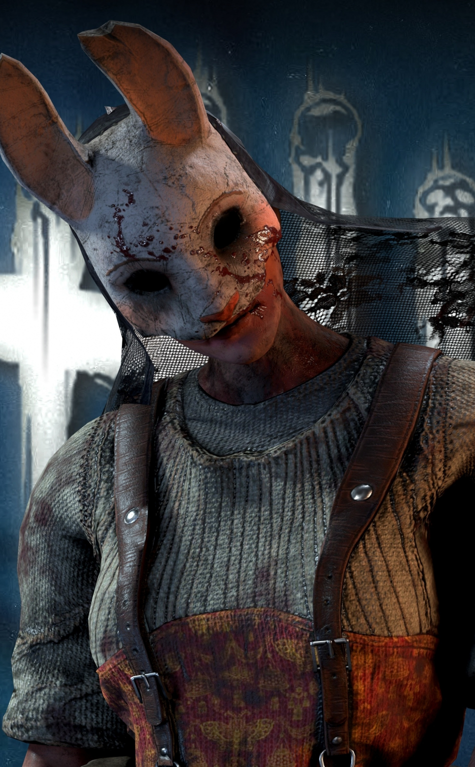 Download 950x1534 Wallpaper Huntress Dead By Daylight Video Game