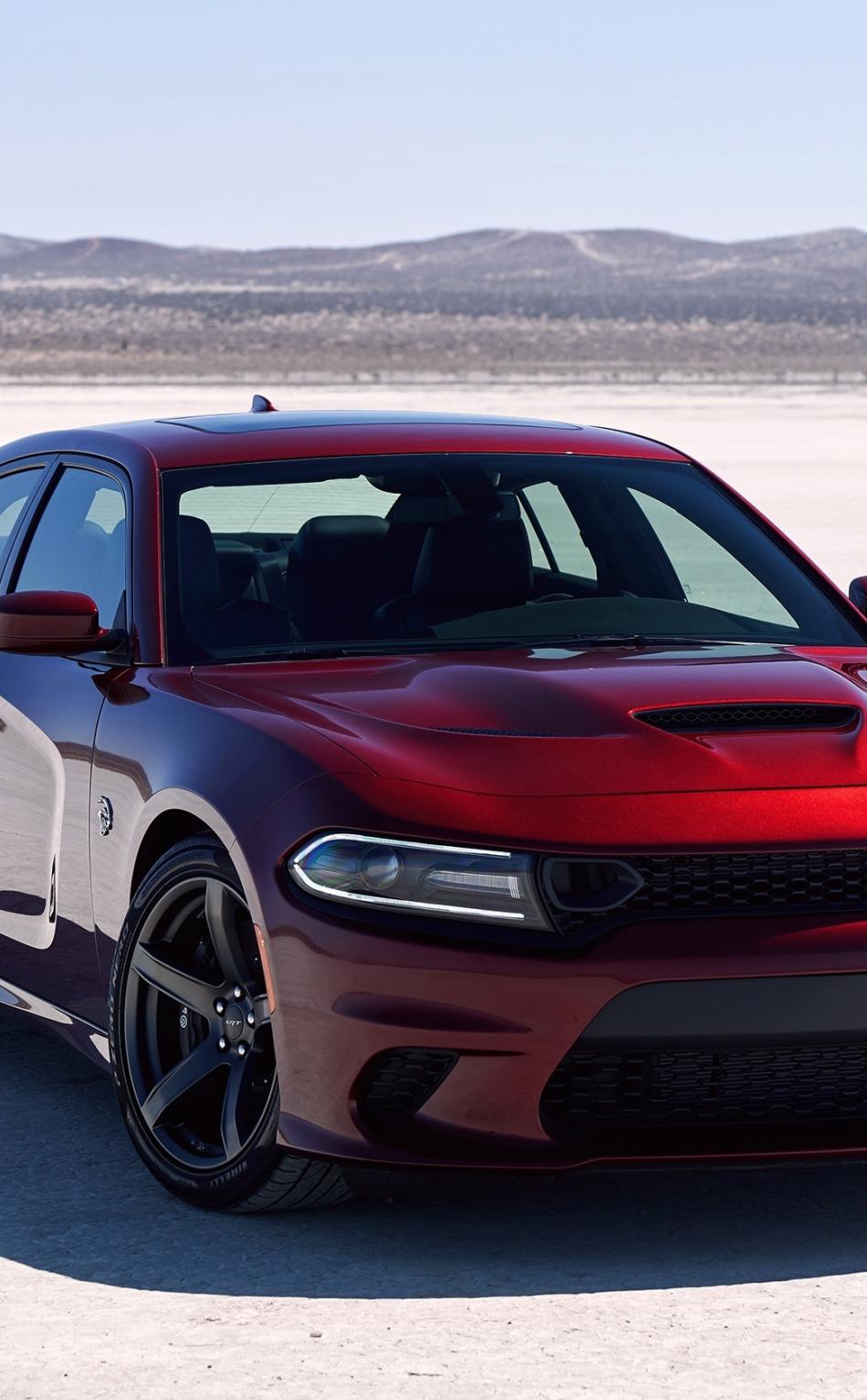Download 950x1534 Wallpaper Red Off Road Dodge Charger Srt