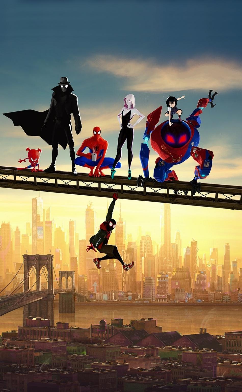 Download 950x1534 wallpaper movie, artwork, spider-man ...
