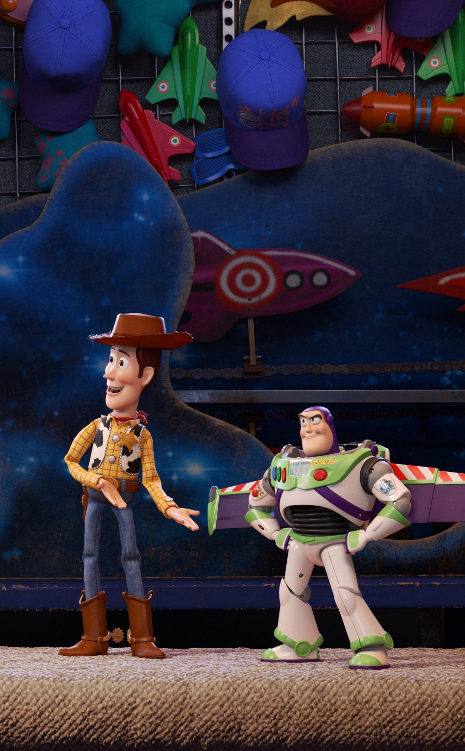 Download 950x1534 wallpaper toy story 4, woody, buzz ...