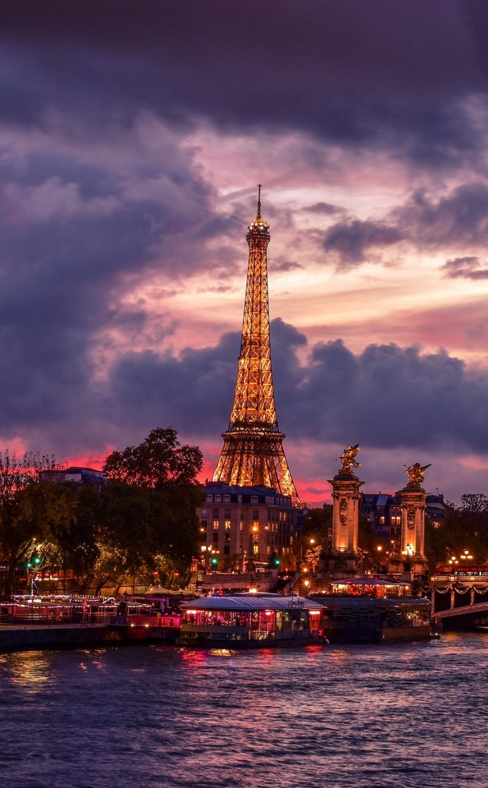Iphone Wallpaper Paris Tower