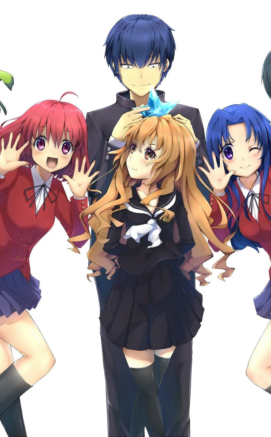 Download 950x1534 wallpaper toradora anime characters - Toradora anime wallpaper ...