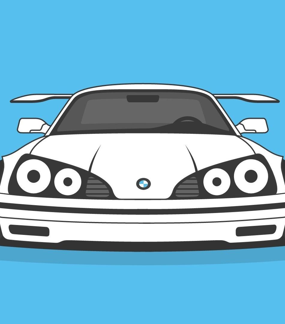 Download 950x1534 Wallpaper Bmw Sports Car Art Iphone 950x1534