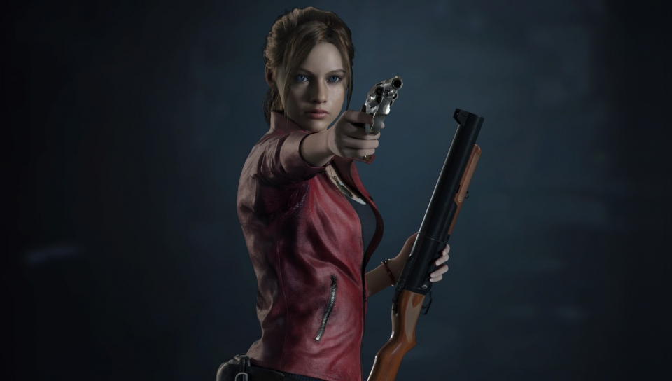 Resident Evil 2, video game, Claire Redfield, 960x544 wallpaper