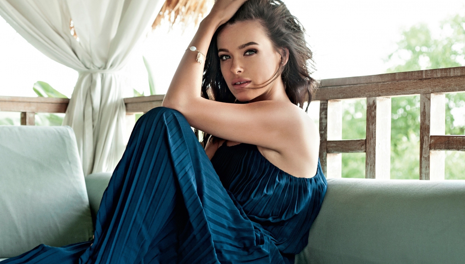 Beautiful, Elena Temnikova, singer, 960x544 wallpaper