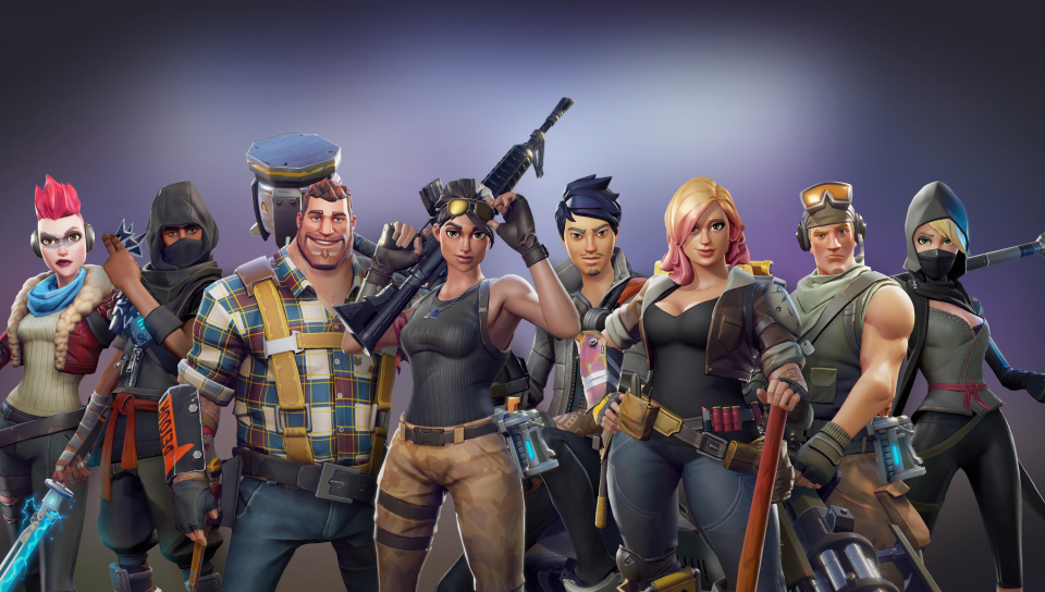 All Characters Video Game Fortnite 960x544 Wallpaper
