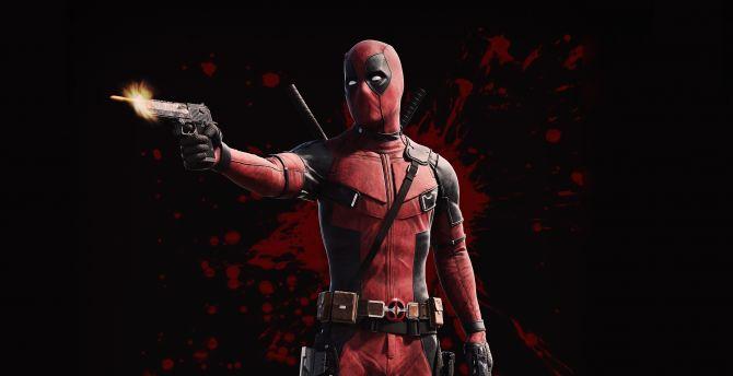 Deadpool Superhero Art Wallpaper
