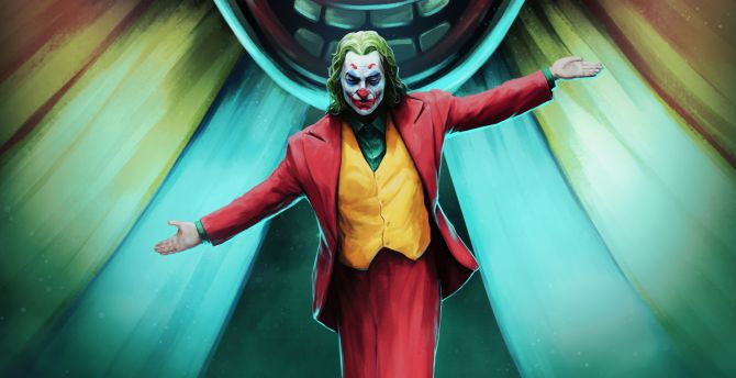 Desktop Wallpaper 2019 Movie Joker Fan Art Hd Image