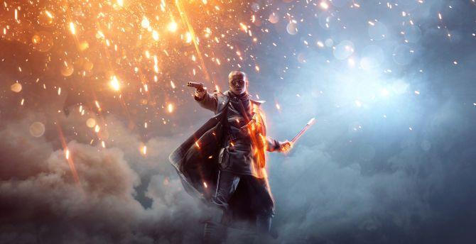 Battlefield 1 Revolution, video game, soldier wallpaper