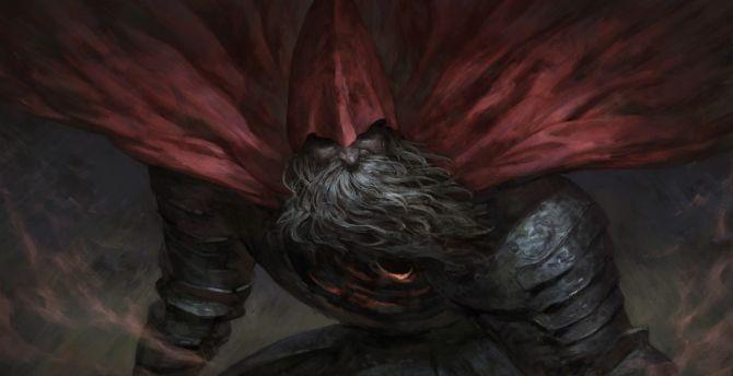 Big beared man dark souls iii