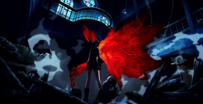 Desktop Wallpaper Ken Kaneki Touka Kirishima Tokyo Ghoul Dark