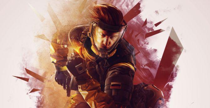 Rainbow 6, Tom Clancy's Rainbow Six Siege, game, art wallpaper