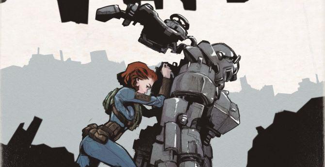 Desktop Wallpaper Artwork Fan Made Fallout 76 Hd Image Picture Background 1218cd